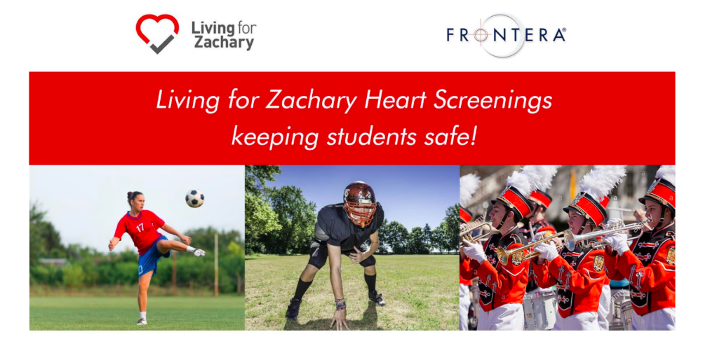 Free Living for Zachary Heart Screenings Sponsored by United Way of Parker County